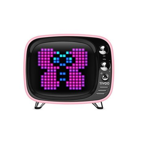 DIVOOM Tivoo Bluetooth Speaker - Pricess Pink