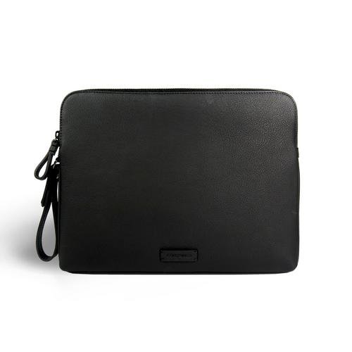 CONTAINER 13 CLUTCH  BLACK
