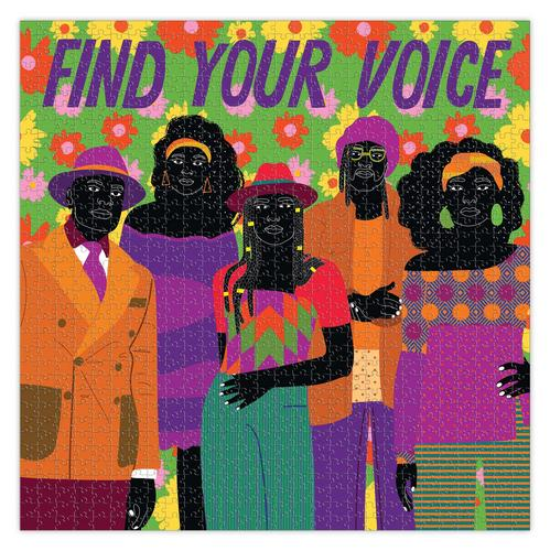 EEBOO - Find Your Voice 1000 Pc Sq Puzzle