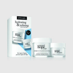 PHILOSOPHY Hydrating and Refining Face & Eye Hope in a Jar Duo Set