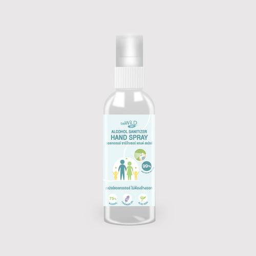 BEWILD Alcohol Sanitizer Hand Spray 100 ML.