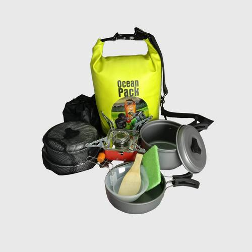 Equinox Canping Cooking Set with Gas stove