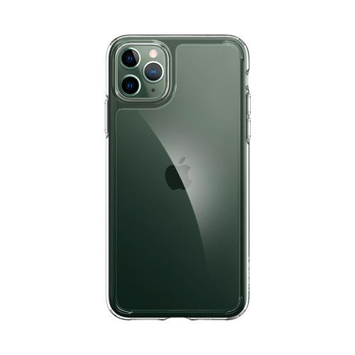 SPIGEN iPhone 11 Pro Max Quartz Hybrid : Crystal Clear