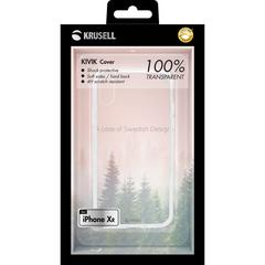 Krusell Kivik Cover Apple iPhone XR Transparent