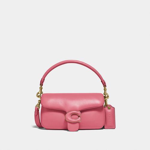 蔻驰COACH Pillow Tabby Shoulder Bag 18 - B4/Rouge