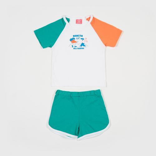 NANITA Kids Clothing Set CB001 - Green - S