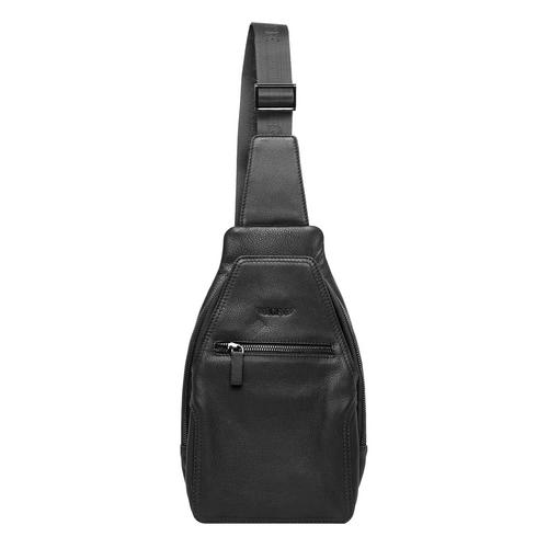 GIAN FERRENTE DEER MESSENGER BAG  - BLACK