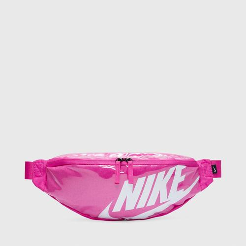 NIKE-CK7914-601-NK HERITAGE HIP PACK - MTRL-U FIRE PINK/FIRE PINK/WHITE US