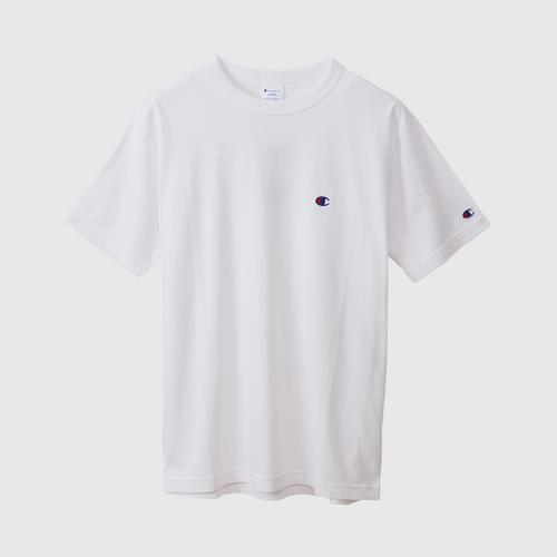 CHAMPION Men Basic T-Shirt Oxford Gray Size S