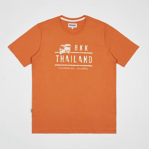 MAHANAKHON TUK TUK Bangkok Thailand T恤 - XL码 (橙色)