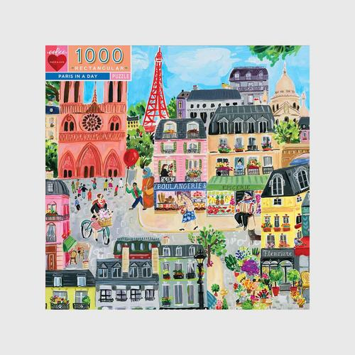 EEBOO - Paris in a Day 1000 pc Rtg 11x11