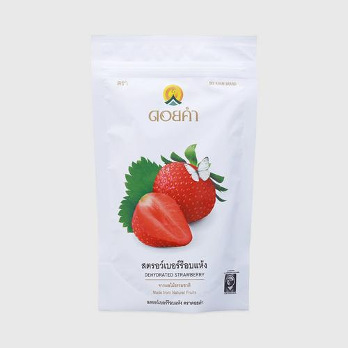 DOI KHAM Dehydrated Strawberry 140 G.