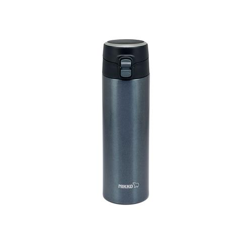 NIKKO Stainless Steel Vacuum Bottle 350 ml. OPB - Black