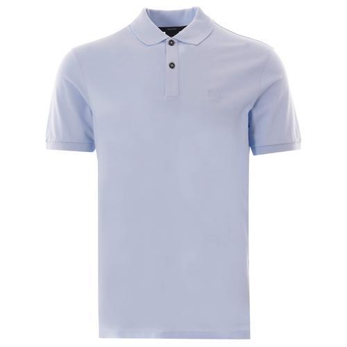 服装HUGO BOSS Pallas Pique Polo (Pastel Blue) Size S