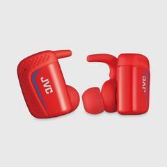 JVC 耳机 HA-ET900BT-R Bluetooth蓝牙 无线 (红色) 6.5克 x2