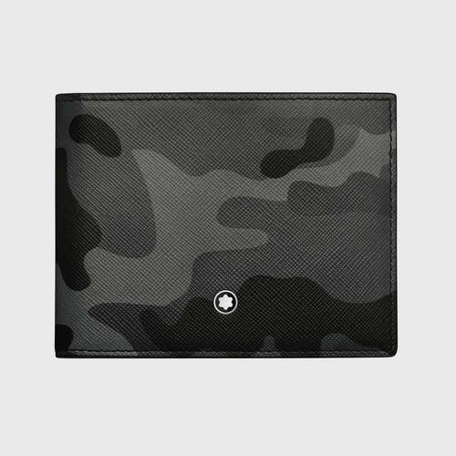 MONTBLANC Sartorial Camouflage Wallet 4cc with money clip