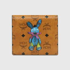 MCM Rabbit ID Wallet in VisetosMini