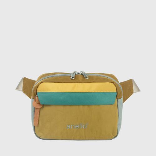 ANELLO OS-S058-NOSTALGIC Reg. Waist bag-BROWN