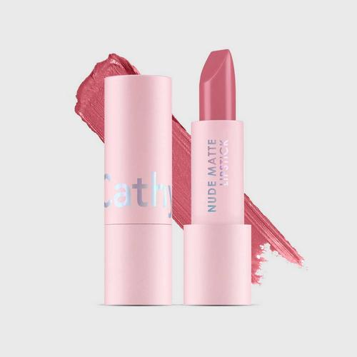 CATHY DOLL Nude Matte Lipstick 3.5g Cathy Doll (M) #04 Barely Pink