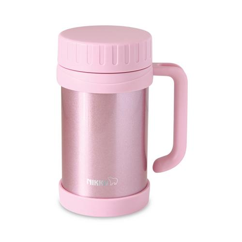 NIKKO 不锈钢真空保温杯 500毫升 CHX - 粉红色