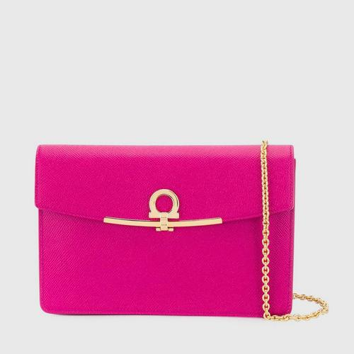 SALVATORE FERRAGAMO Gancio Plaque Cross Body Bag