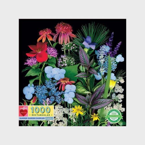 EEBOO - Summer Garden Sampler 1000pc Rtg 11x11