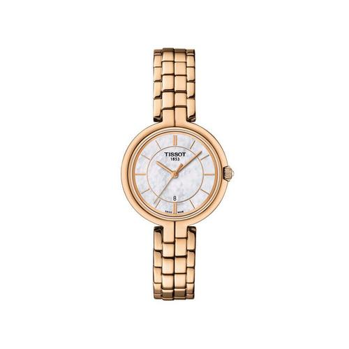 TISSOT Flamingo Rose PVD 30mm (White MOP Dial)