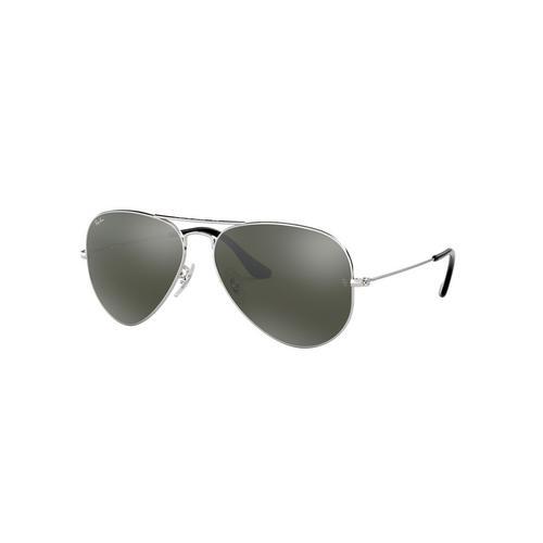 RAYBAN Silver Metal Sunglasses 0RB3025W327758