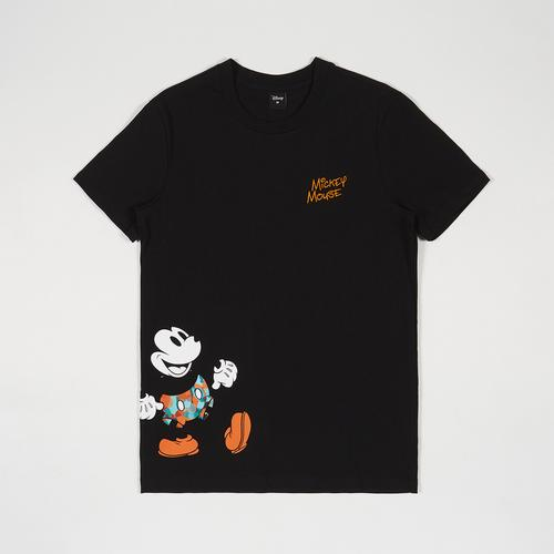 Disney Men T-Shirt Mickey Black-M