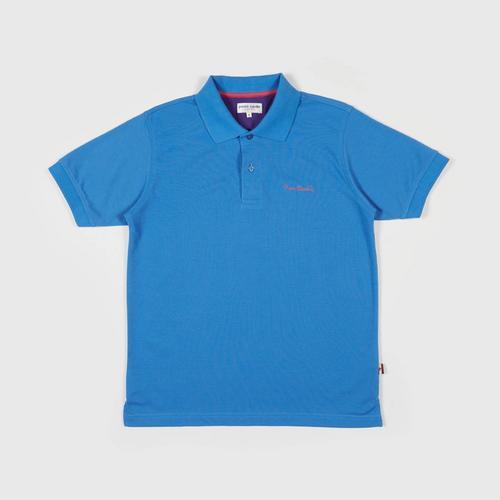 PIERRE CARDIN Polo Shirt - M BLUE