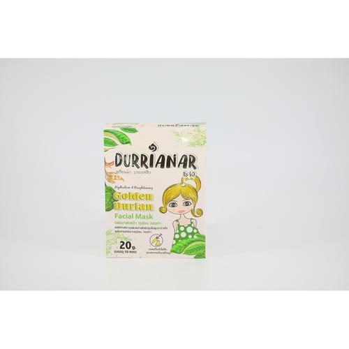 Durrianar By SQ Golden Durian Facial Mask  (10 Sheets/Box)