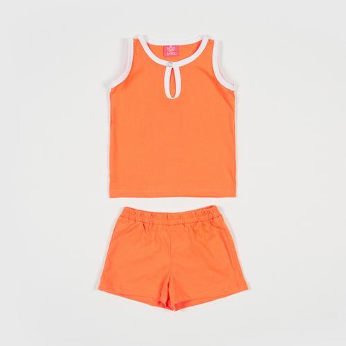 NANITA Kids Clothing Set P015 - Orange - S