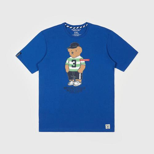 BEVERLY HILLS POLO CLUB  T-Shirt - Blue - M