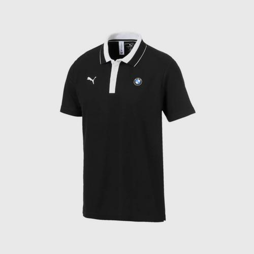 PUMA M/BMW MMS Men's Polo Shirt Puma Black SIZE S