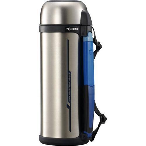 象印 (ZOJIRUSHI) 不锈钢真空保温瓶附带杯盖 SFCC20XA -2.0L - 不锈钢色