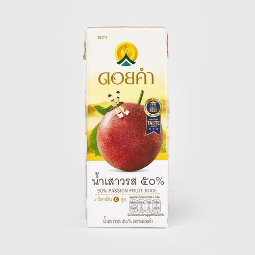 DOI KHAM 50% PASSION FRUIT JUICE 200ML