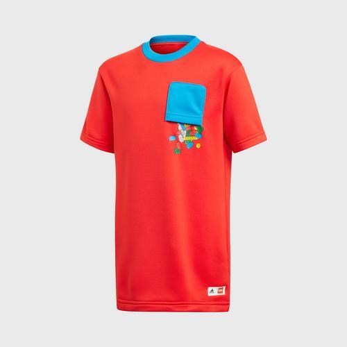 Adidas U LEGO LG TEE - RED SIZE 128 CM UK