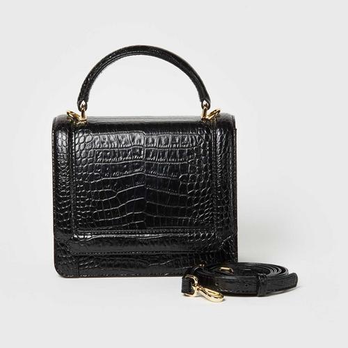 Longlai Small Flap Bag Black Colour