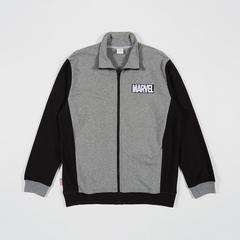 MARVEL Men Jacket Marvel logo front&Back Grey/Black-M