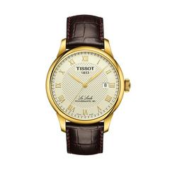 TISSOT Le Locle Gent Yellow PVD  39.3 MM (Ivory Dial)