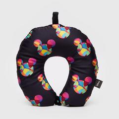 Disney Mickey Mouse Print on Black Neck pillow