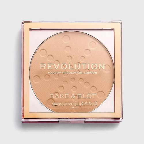 MAKEUP REVOLUTION Bake & Blot - Beige 5.5 g (Pressed powder compact)