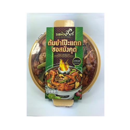 ROT MUE CHAN Tom Yum Po Tak With Mangosteen Sauce 200g
