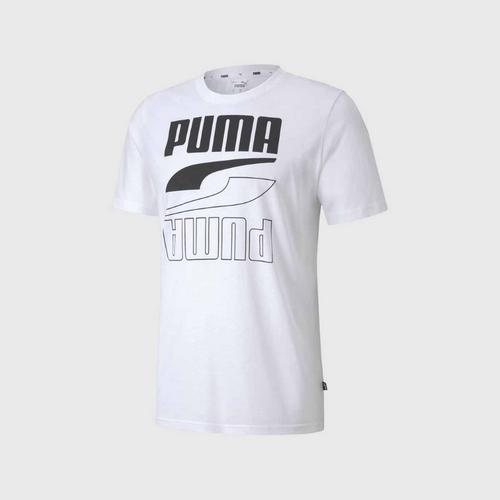 PUMA Rebel Tee - White Size XS
