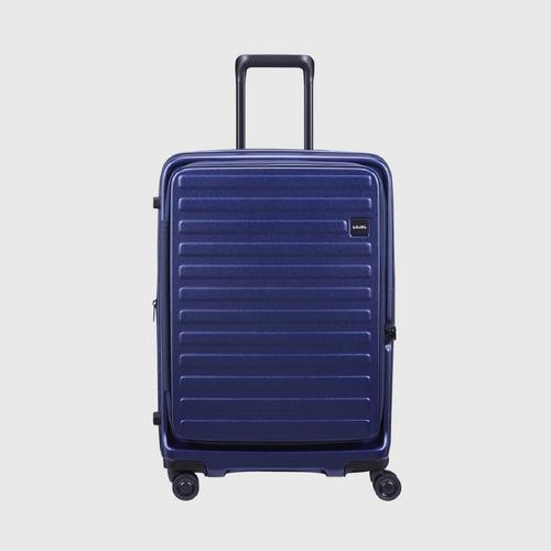 LOJEL Cubo Medum 4 Wheels TSA Lock-Navy Blue