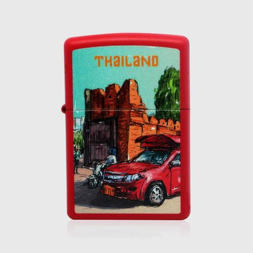 ZIPPO Exclusive Collectible Lighter SIGHTS COLLECTION RED CAR
