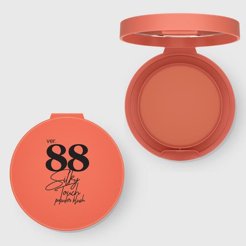 VER.88 Silky Touch Powder Blush No. V2 Desert 4.5 g.