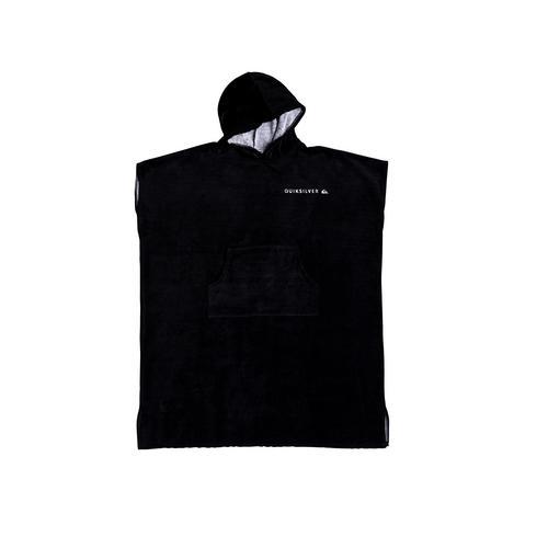 QUIKSILVER BLACK HOODY TOWEL