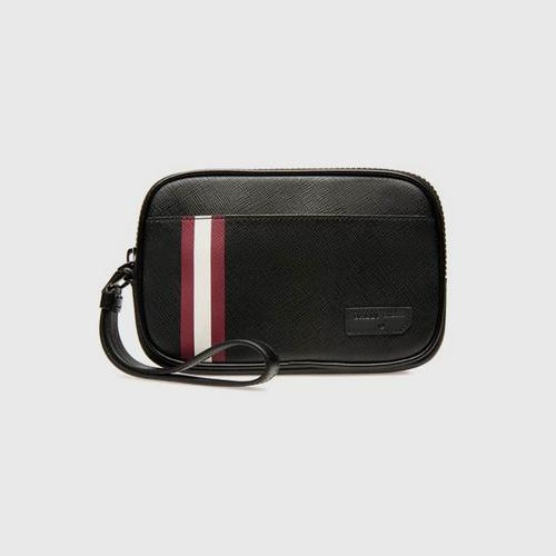 BALLY Bihn Coated Cotton Canvas In Black