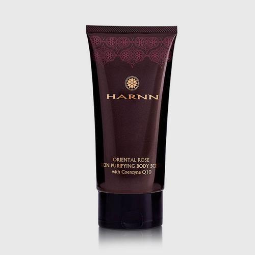 HARNN Oriental Rose Skin Purifying Body Scrub With Coenzyme Q10 150 g.